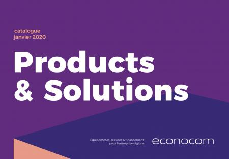 Catalogue Products & Solutions Janvier 2020